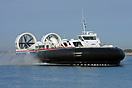 The new 70 tonne BHT 130 'Solent Express' was the first hovercraft to ...