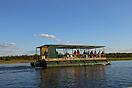 A sunset river cruise on the Chobe River, Botswana