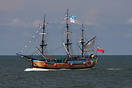 full-scale museum replica of Captain James Cook's famous Whitby built ...