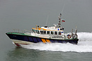 ABP Interceptor 55 Patrol, at speed in Southampton Water.