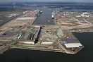 Works started in 2011 and Deurganck Dock Lock will become when finishe...