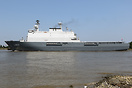 HNLMS Rotterdam is a Landing Platform Dock amphibious warfare ship and...