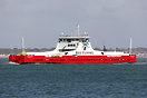 Red Kestrel is a new freight only ferry built by Cammell Laird in Birk...